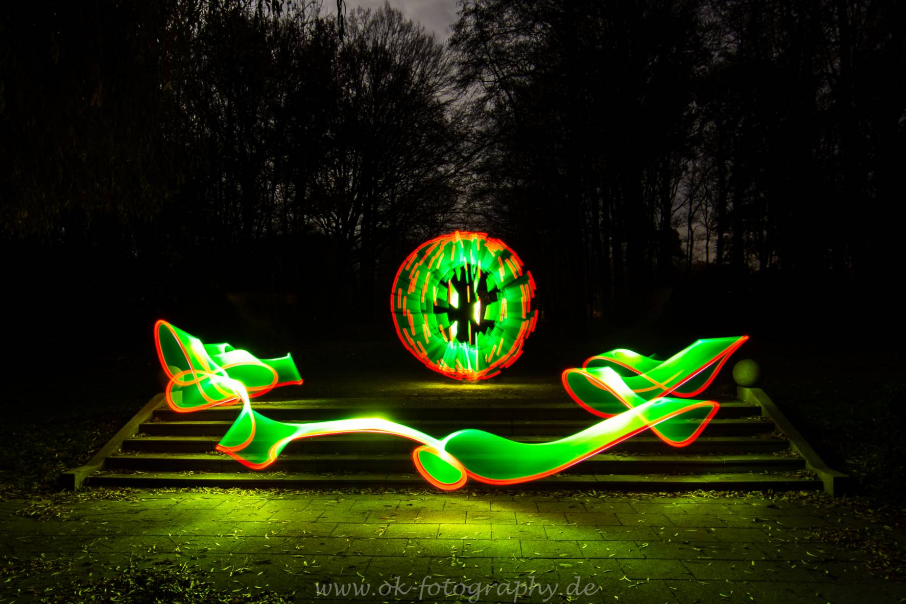 Lightpainting Lichtkunst Lightart LAPP Hamm